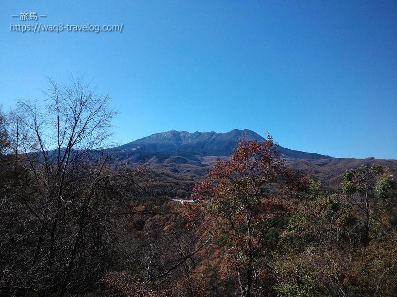 九蔵峠からの御嶽山