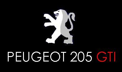 PEUGEOT205ロゴ