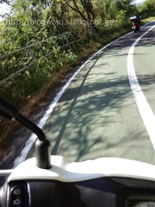 因島大橋へのアプローチ路