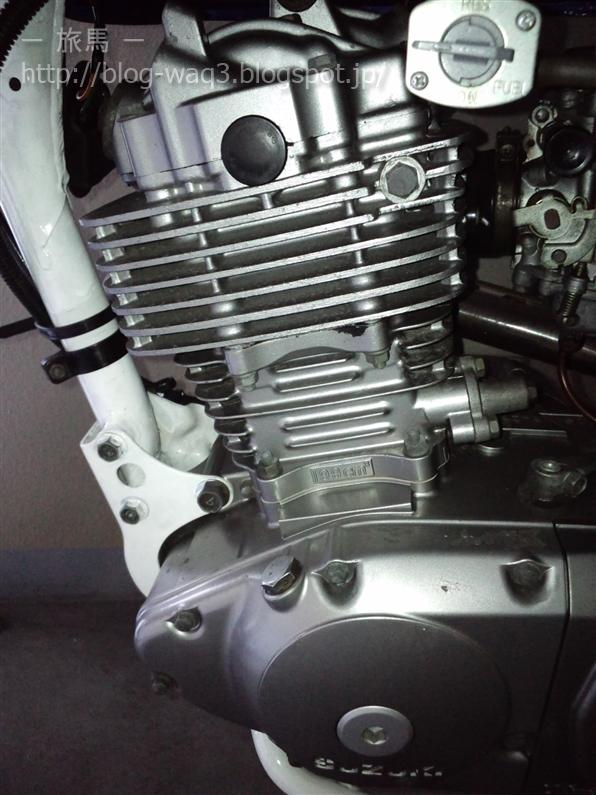 ジェベル200のエンジン