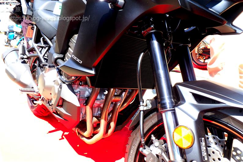 Versys1000のエンジン