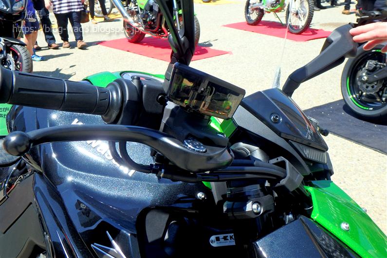 Z1000のブレーキマスターシリンダー