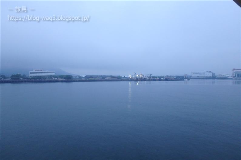 高松東港が見えてきた