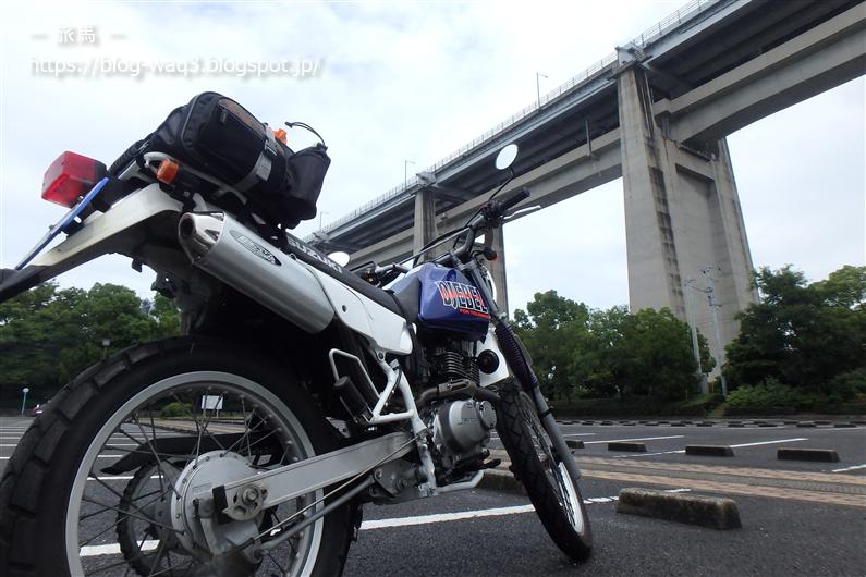 瀬戸大橋とジェベル200