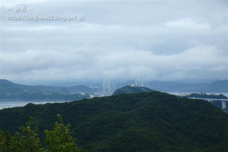鳴門スカイライン展望台からの眺め