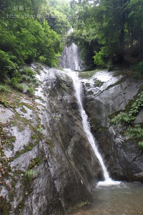 猿尾滝全景