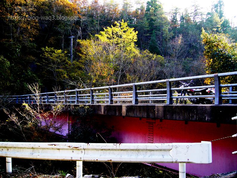 せっかくだから赤い橋を撮るぜ!!