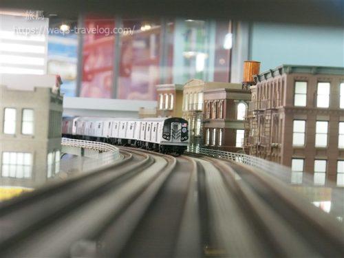 カワサキワールドの鉄道ジオラマ