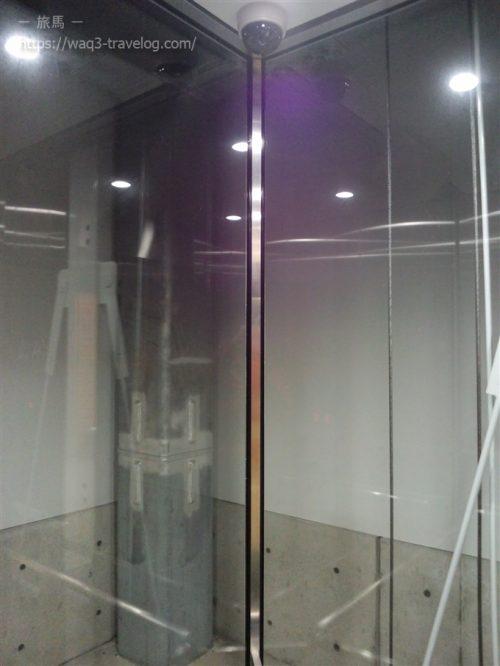余部クリスタルタワーのエレベーター内