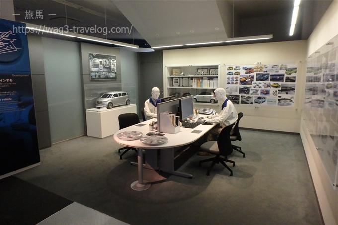 スズキ歴史館2階 デザイン