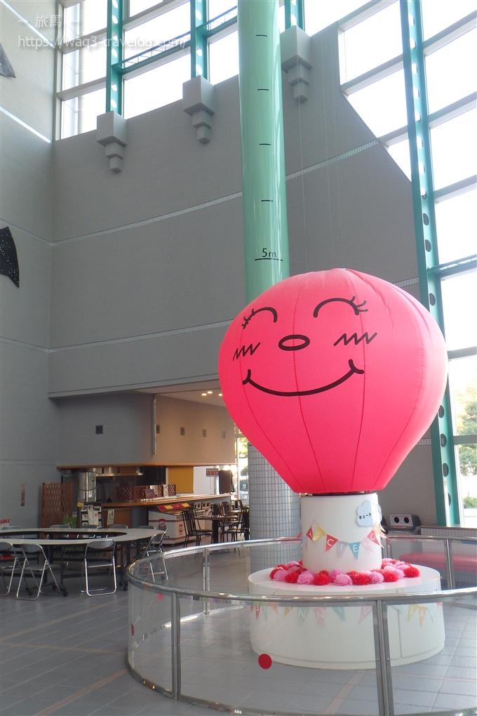 姫路科学館の熱気球