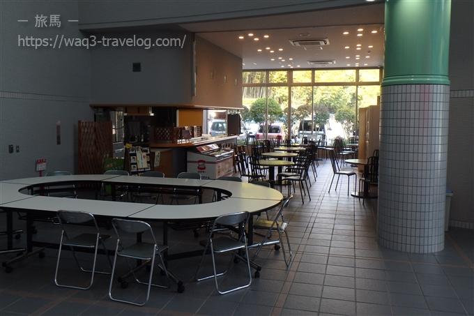 姫路科学館の喫茶コーナー