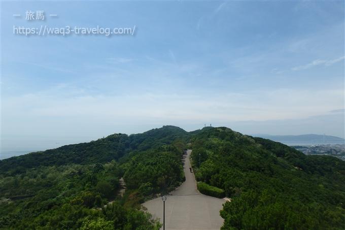 おらが山から須磨浦公園方面