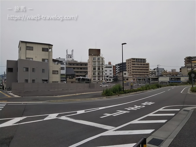 姫路モノレール大将軍駅跡地