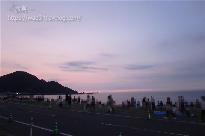 浜坂ふるさと夏まつり花火大会の会場