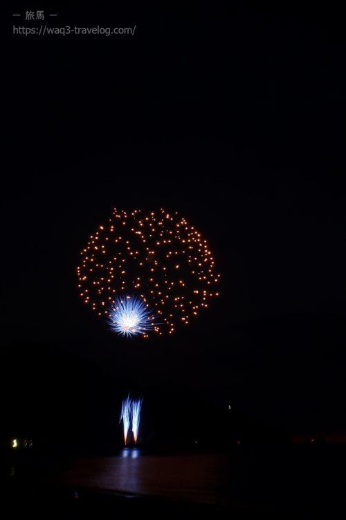浜坂ふるさと夏まつり花火大会の花火