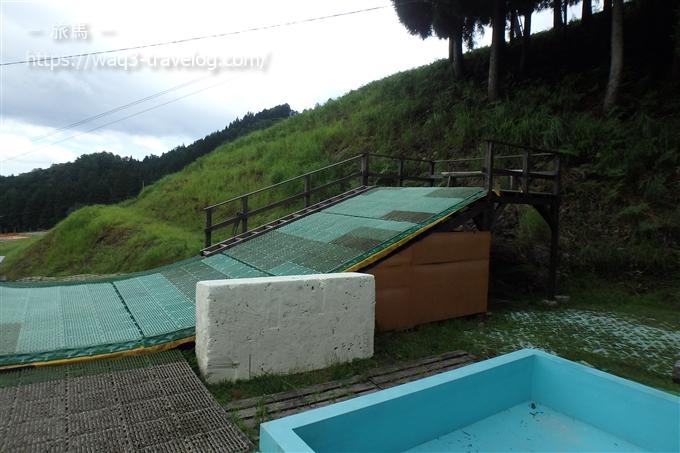 そりぽちゃのジャンプ台