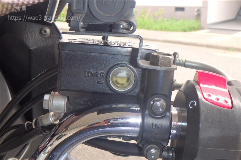 Bandit1250Sのブレーキマスター