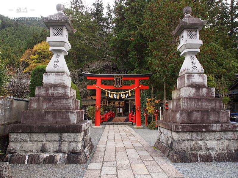 天河神社の正面