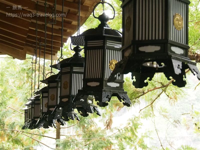 天河神社の拝殿