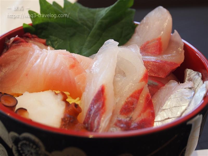 福良マルシェの海鮮丼