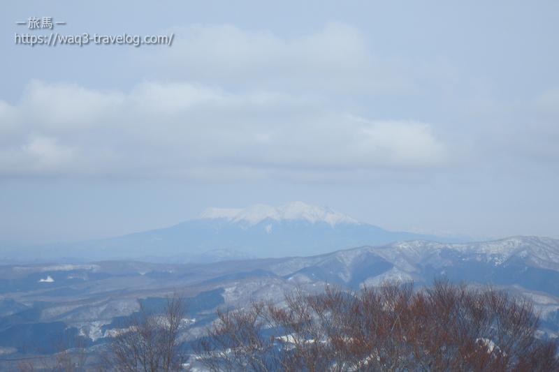 高鷲スノーパークからみた御嶽山