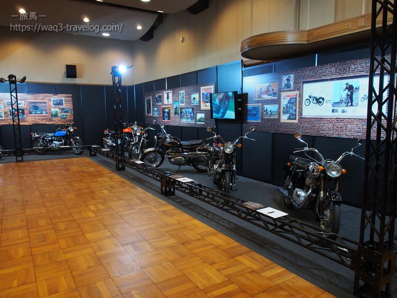 カワサキ モーターサイクルフェア2019 RE:WINDの会場