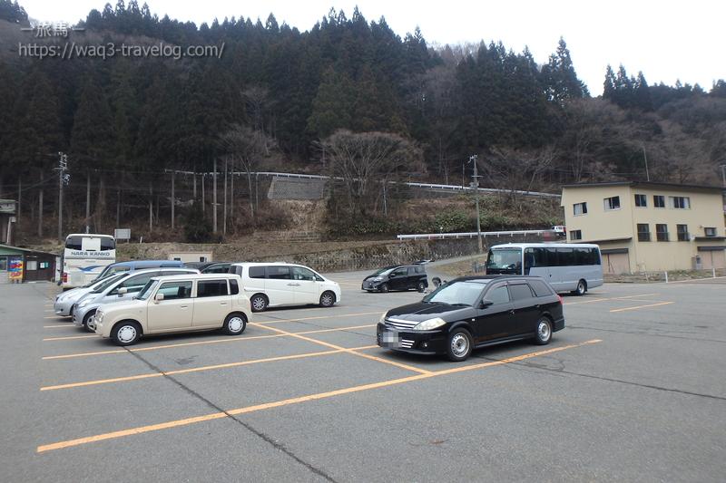 氷ノ山国際スキー場の駐車場