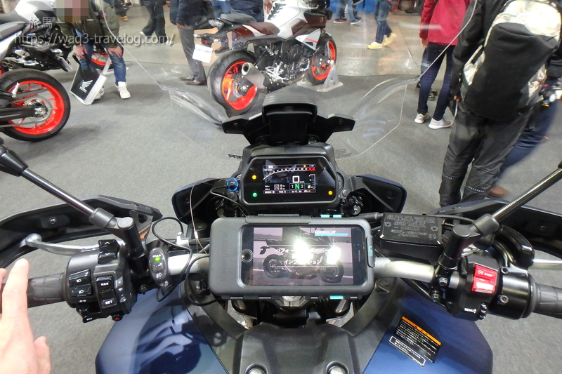 TRACER900GTのメーター