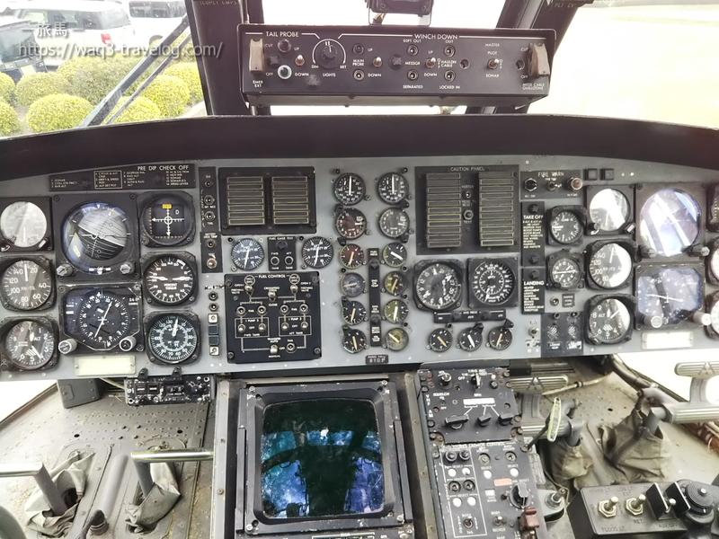 対潜哨戒ヘリコプター HSS2B(ちどり)のコクピット