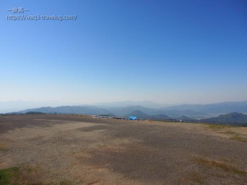 道の駅 美ヶ原高原からの眺め