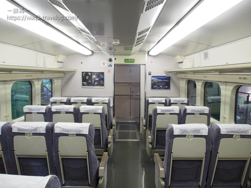 0系新幹線の車内