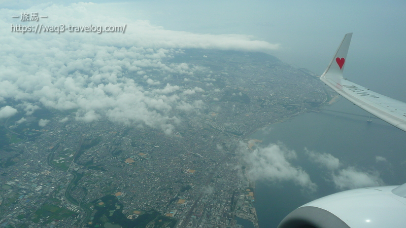 機上からの景色