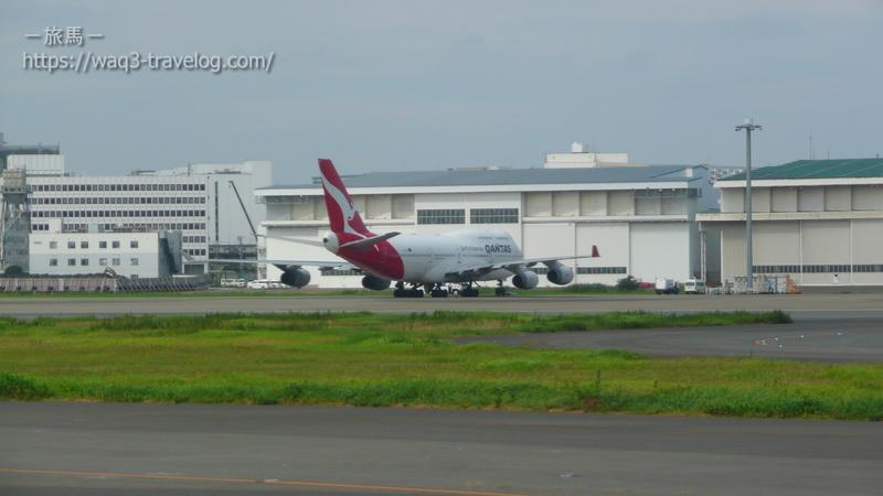 カンタス航空のボーイング747