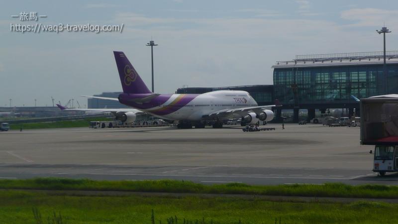 タイ航空のボーイング747