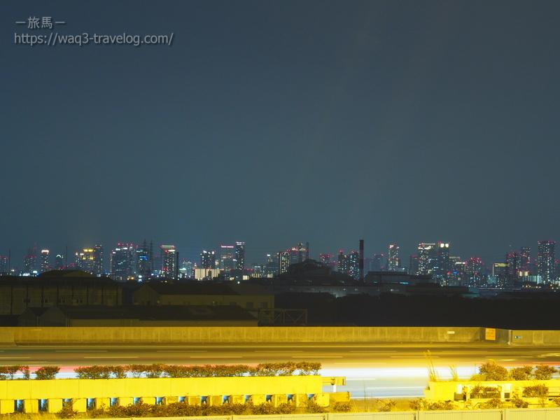 阪神高速湾岸線・中島PAにて