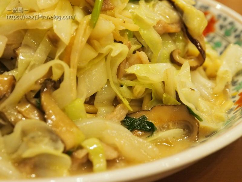 四海樓の炒肉絲麺