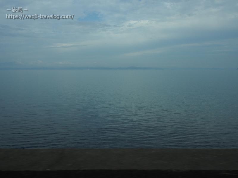 大村湾の眺め