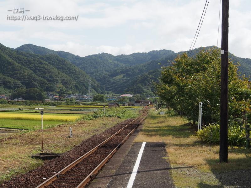若桜鉄道「隼駅」