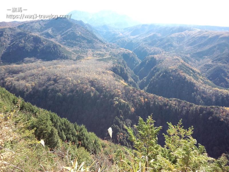 御嶽山・日本一の溶岩流