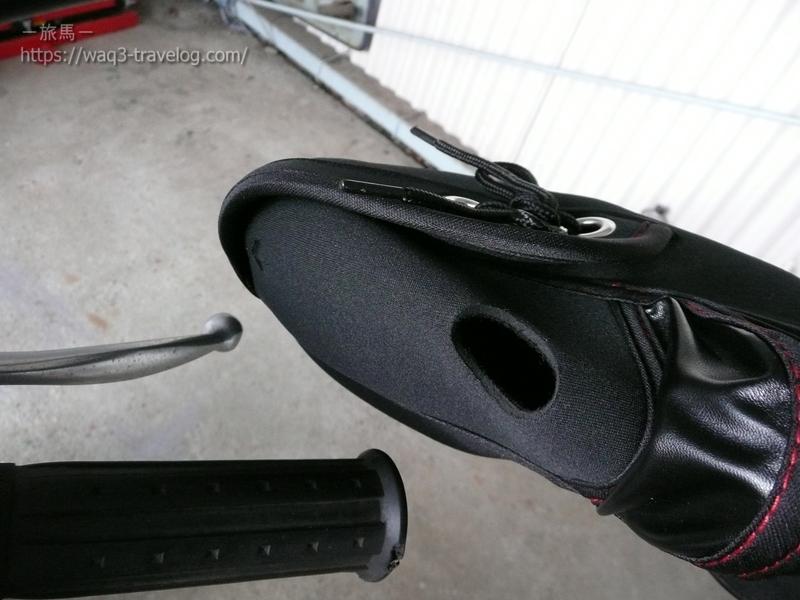 ネオプレーンハンドルカバーをアドレスV125Gのグリップに装着