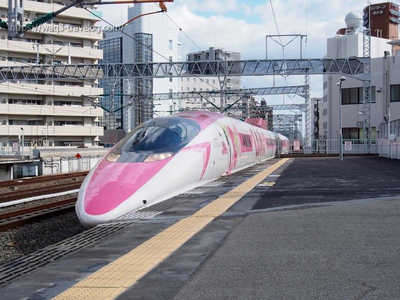 ハローキティ新幹線 こだま741号