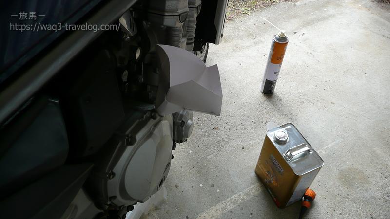 バンディット1250Sのオイル交換