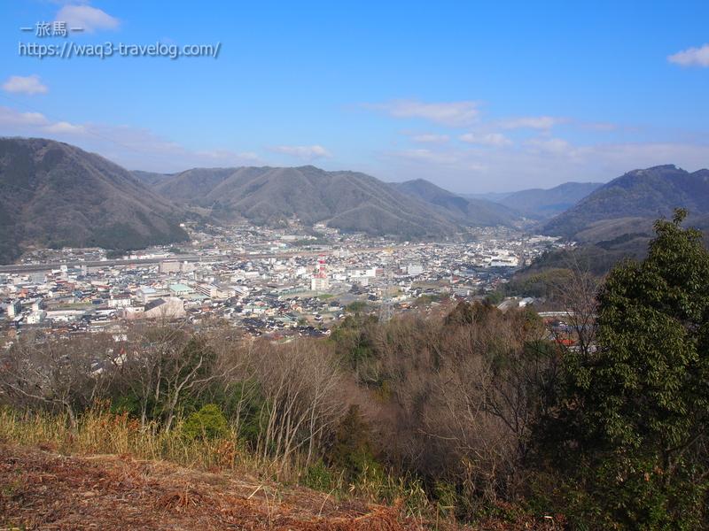 大久保峠からの眺め