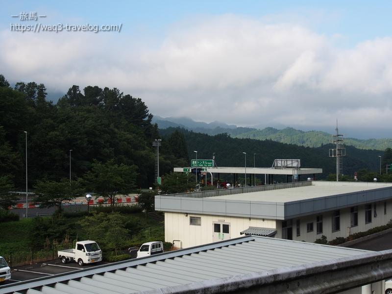 北近畿豊岡道・遠坂料金所