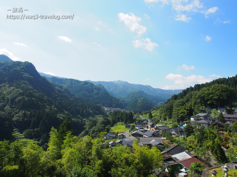 香美町小代区の風景