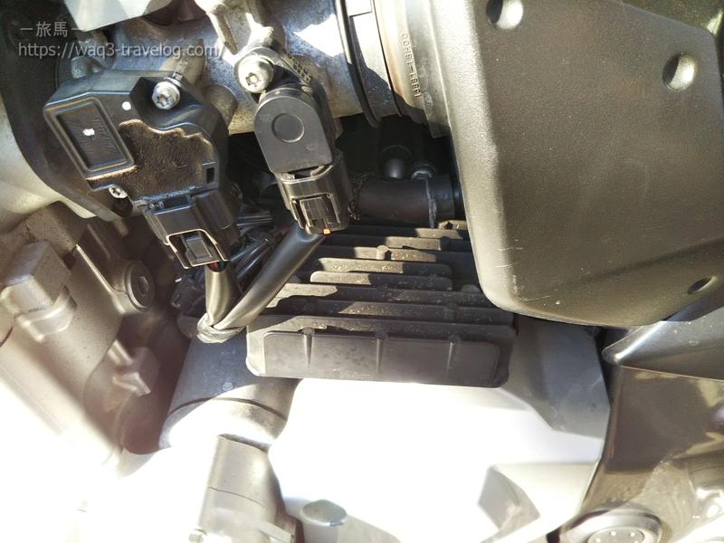 バンディット1250Sのレギュレーターレクチファイア