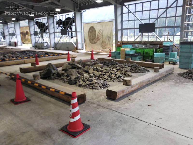 大野市化石発掘体験センターホロッサ