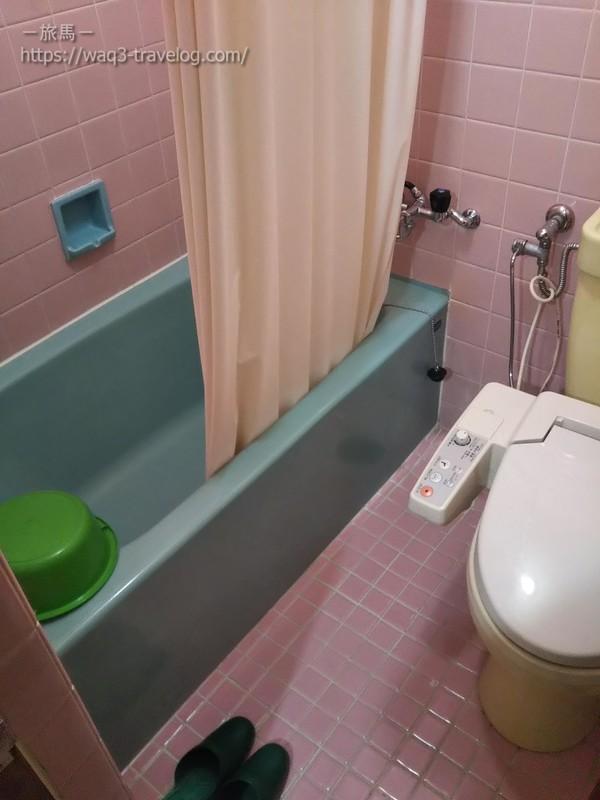 リバーサイドホテル松栄の客室の浴室