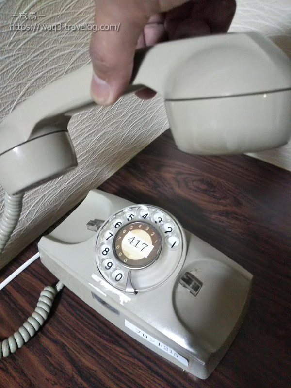 リバーサイドホテル松栄の客室の内線電話